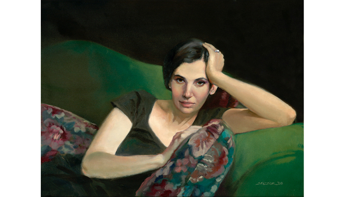 Portrait by Joel Spector